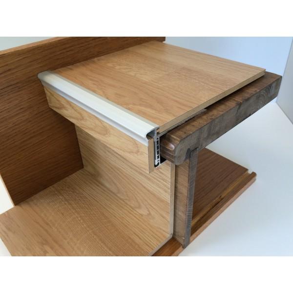 profil de nez de marche technistair lg 1 5m attitude maison. Black Bedroom Furniture Sets. Home Design Ideas